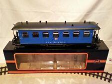 Spur G, neuer, 4-achsiger Personenwagen, Train - blau, Günstigvariante! Original