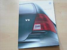 52306) VW Bora Variant Prospekt 04/1999