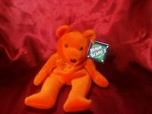 Beanie Baby NWT San Francisco Giants Barry Bonds #25 Bamm Beanos  Plush Bear