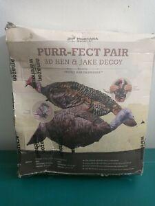Montana Decoy Purr-Fect Pair 3D Hen & Jake Decoy