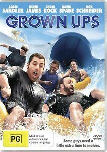 Grown Ups DVD Adam Sandler Comedy Funny Movie Chris Rock - FAST FREE POSTAGE