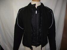 Harley Davidson FXRG Womens Medium Black Nylon Jacket Body Armor 98366-05VWEUC
