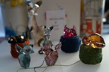 Swarovski figurines The Lovlots  House of Cats Highly Collectible NIB