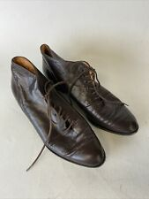 Vintage Robert Clergerie Short Brown Leather boots 7.5