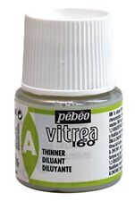Pebeo Vitrea 160, Glass Paint Thinner, 45 ml Bottle New M