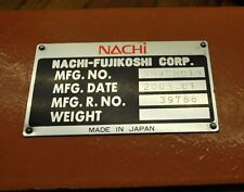 Nachi Robot B02CH019 complete cable set, upper, lower & connecting cables.