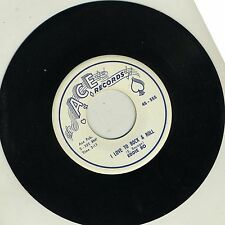 Eddie Bo ~45~ I Love To Rock And Roll / I'll Keep On Trying ~ Ace 555 ~ M-