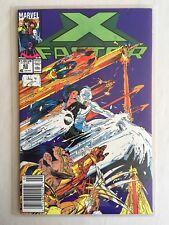 NM+ 9.6-9.8 Unpressed, Short-Print / X-Factor #63 / 1991 Newsstand / Portacio