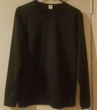 Men's Nwot Medium Black Long Sleeve Athletic Top