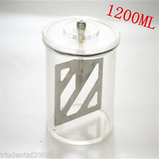 1PC Dental Lab Vacuum Mixer Cup 1200ml For Dental Vacuum Mixer in Dental Lab