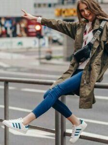 Adidas Originals Superstar EF9248 women's shoes White/ Teal