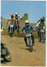 MOTOCICLISMO Motocross anni '70 Partenza Gara NV perfetta moto scrambler ducati