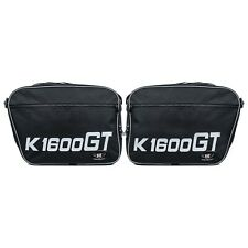 Pannier Liner Bags For BMW Motorbike K1600GT & GTL High Quality Printed Pair