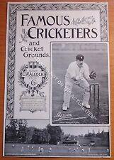 RARE Original Famous Cricketers, Sherwin, Notts, Harrow Cricket Ground 1895