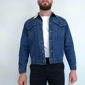 Vintage Wrangler Denim Jacket Medium Blue
