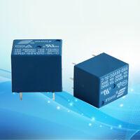 5Pcs Set Mini 10A 5V DC SONGLE Power Relay SRD-5VDC-SL-C PCB Type