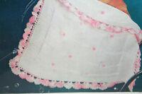 Baby's Pram Blanket Knitting and Crochet Pattern