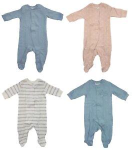 Baby Schlafoverall mit Fuß Strampler Nachtwäsche Baumwolle 50 56 62 68 74 80 92