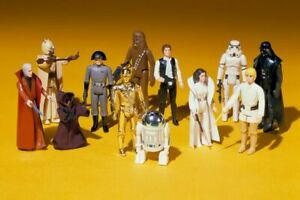 Genuine Kenner Vintage Original Star Wars Retro Action Figures (1977-1985)
