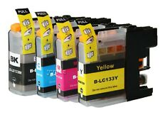 8x Ink Cartridges For LC133 LC131 Brother DCPJ152W- DCPJ172W DCPJ752DW MFCJ470DW