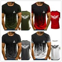 New Legend of Zelda 3D Print Men's T-shirt Game Graphic Male's Tops Sports Tee