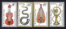 Germany DDR 2031-34 MNH 1979 Various Musical Instruments Complete Set VF
