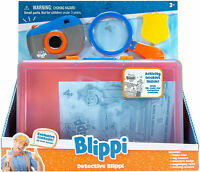 New Detective Blippi Roleplay Set Toy Camera Detective Badge Magnifying Glass
