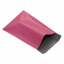 """25 FUNKY PINK Mailing Postage Parcel Post Bags 13"""" x 17"""" Self Seal 320x440mm"""