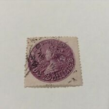 NSW 5/- Brown Queen Victoria Coin  SG 24 single cancel looks like 1876