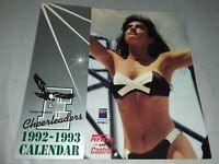 Vintage Philadelphia Eagles Cheerleader Wall Calendar 92-93 Very Rare! 👀