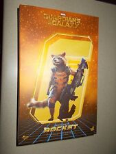 "NEW HOT TOYS MARVEL 6"" GUARDIANS OF THE GALAXY ROCKET RACOON 1/6 SCALE"