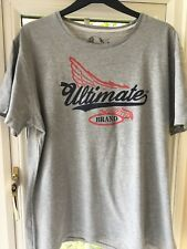 BURTON gris chiné T-shirt XL