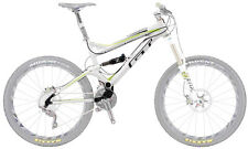 "GT Force LE Full Suspension S Frame 26"" Fox CTD Rear Shock MTB White Green"