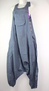 Alibaba Dungarees Baggy Jumpsuit Hippy Harem Pant Overall Cargo Ethnic Nepal 704