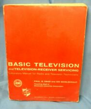 Vintage BASIC TELEVISION and Television-Receiver Servicing Book