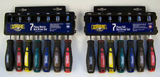 14pc Nut Driver set SAE & METRIC Hollow & HEX Shafts Free Cases CR-V GearHead ne