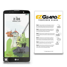 EZguardz Premium Tempered Glass Screen Protector For LG Stylo 2 Plus