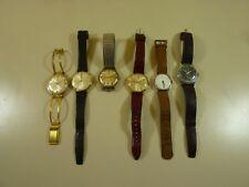 Sammlung alte Herren Armbanduhren Konvolut