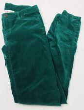 Inside Girl Corduroy Women's Green Skinny Pants Size EUC 164 Western Style