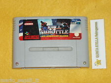 FULL THROTTLE  Super Nintendo versione PAL SNES cart only - solo cartuccia
