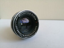 Zeiss Sonnar 50mm F 1:2 50mm Lens for Contax