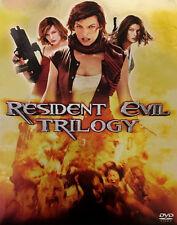 RESIDENT EVIL TRILOGY Resident Evil Apocalypse Extinction Like New DVDs