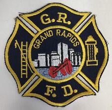 Grand Rapids Fire Department Michigan Shoulder Patch New GR FD MI