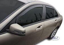 Set 4 Déflecteurs de vent pluie air teintées Mercedes Classe C W204 2007-2013