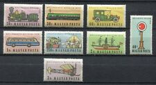 s7731) HUNGARY 1959 MNH** Traffic museum 8v Cars Trains Ships ...