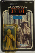 STAR WARS : RETURN OF THE JEDI : LOGRAY CARDED ACTION FIGURE. 65 BACK (F)