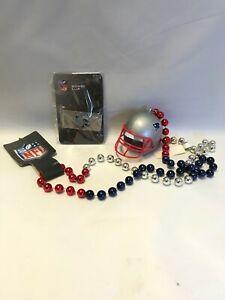 New England Patriots Helmet Money Clip with Helmet Necklace