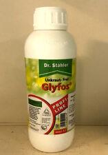Dr. Stähler Glyfos Unkraut-Frei 1 Liter Glyphosat Disteln Löwenzahl Klee