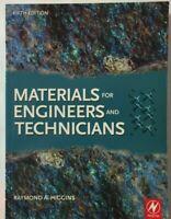 Materials for Engineers & Technicians 2010   Raymond Higgins