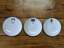 Kate Spade Lenox Plates New York Concord Square Cause A Stir Tidbit Set of 3